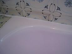 浴槽 施工後 上部