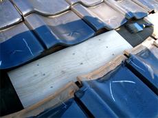補強板の設置