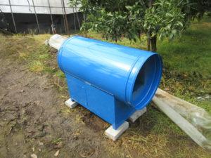 炭酸ガス発生装置 唐津市平原 設置事例1