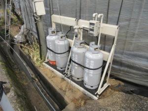 炭酸ガス発生装置 燃料用プロパン
